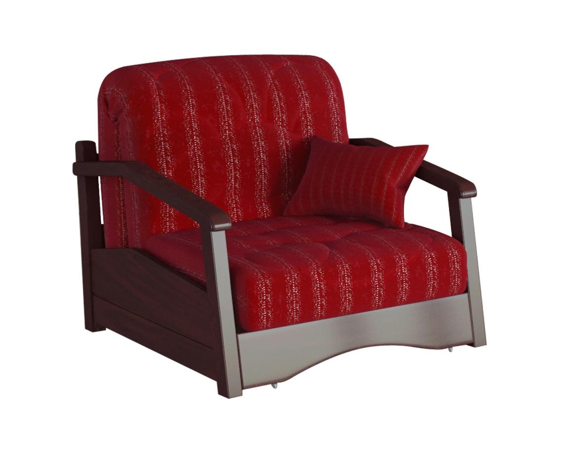 Кресло-кровать Регул с деревянными подлокотниками