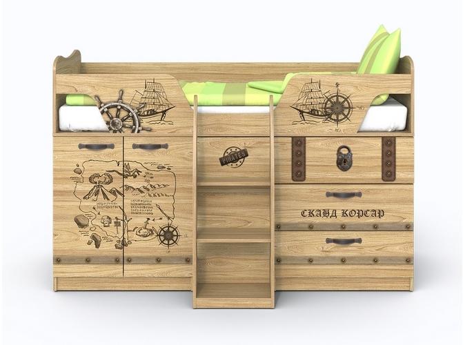 Кровать-чердак Корсар-2 фото