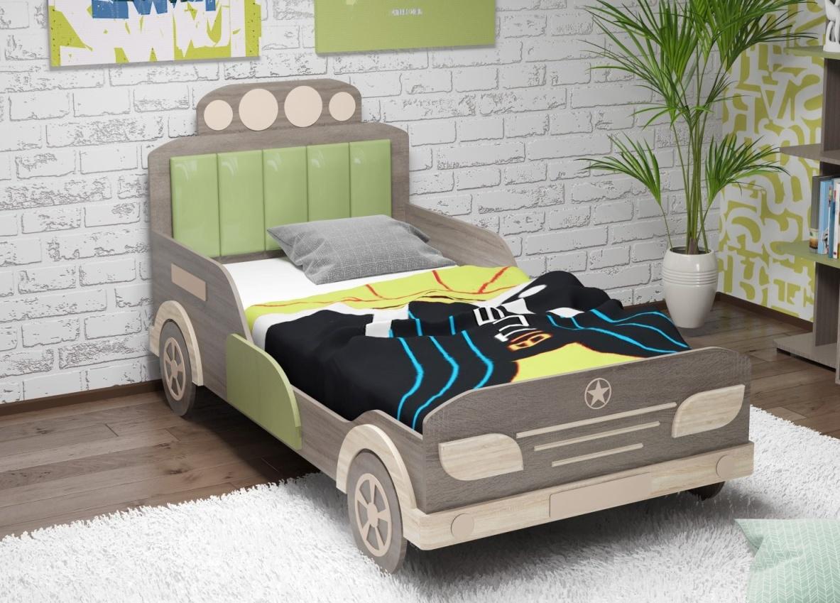 Детская кровать Автомобиль №138 (серия МДК 4.14) фото