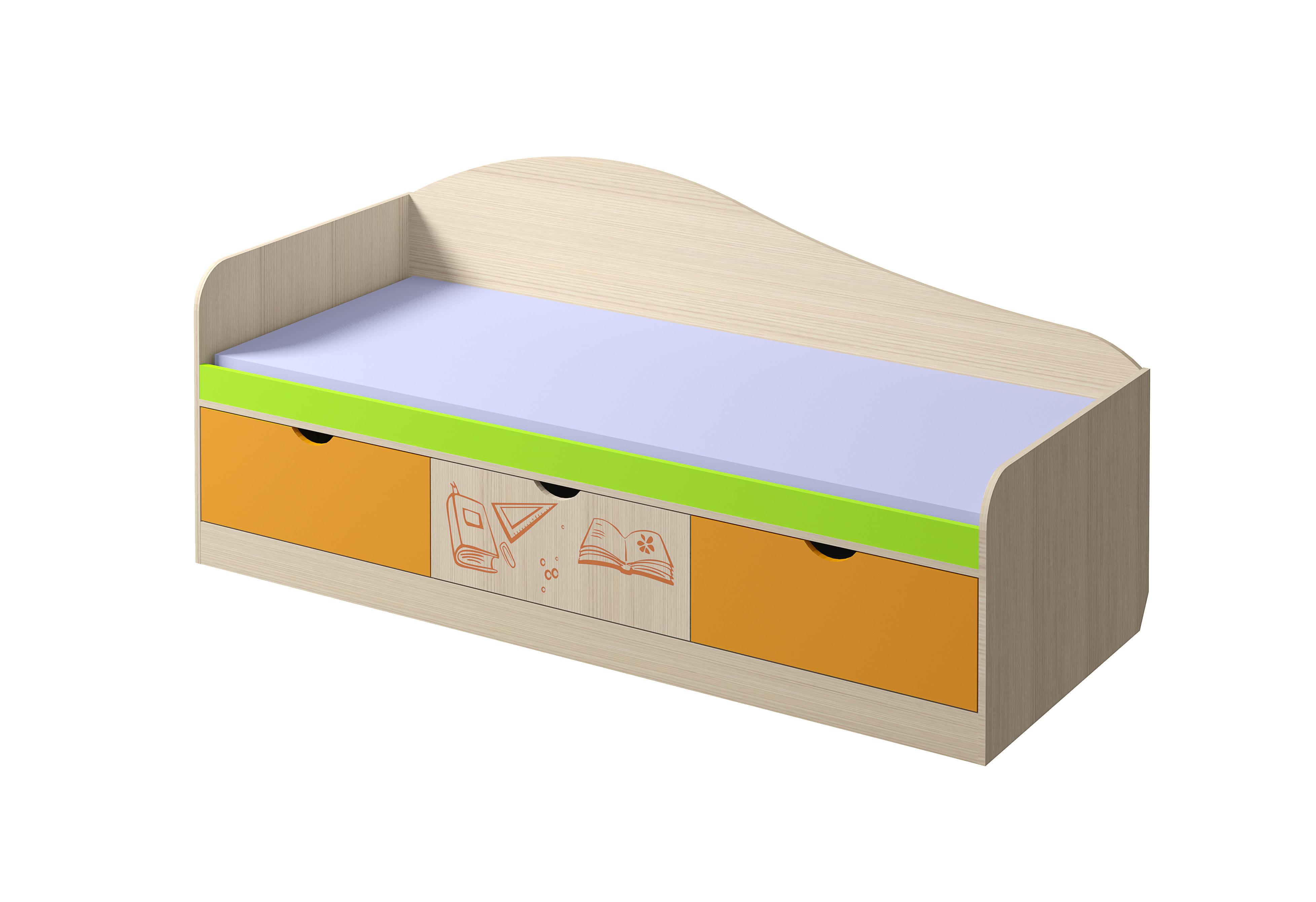 Кровать Почемучка