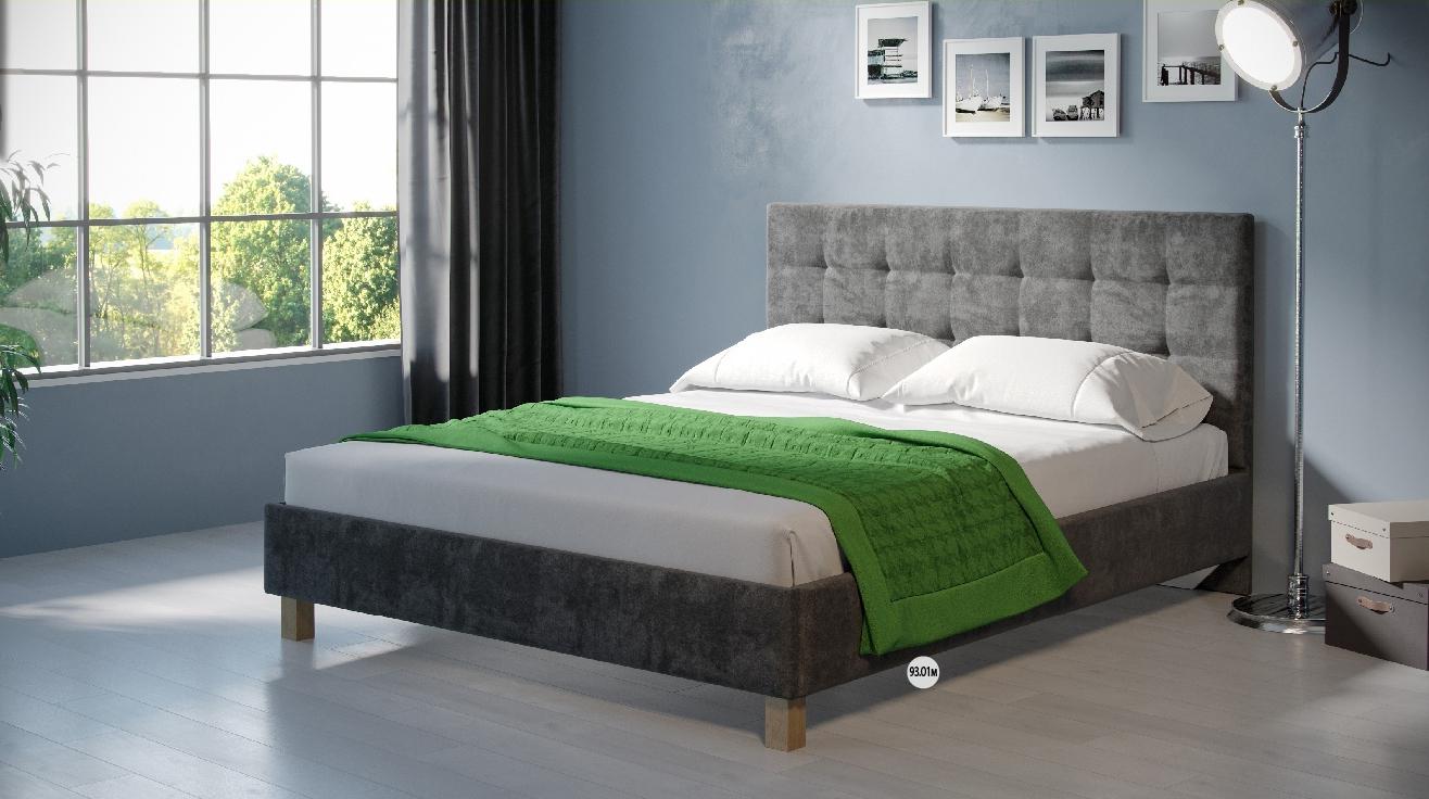 Кровать №93.01М (серия МК 52)