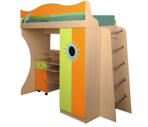 Кровать двухъярусная-Д1 стандарт
