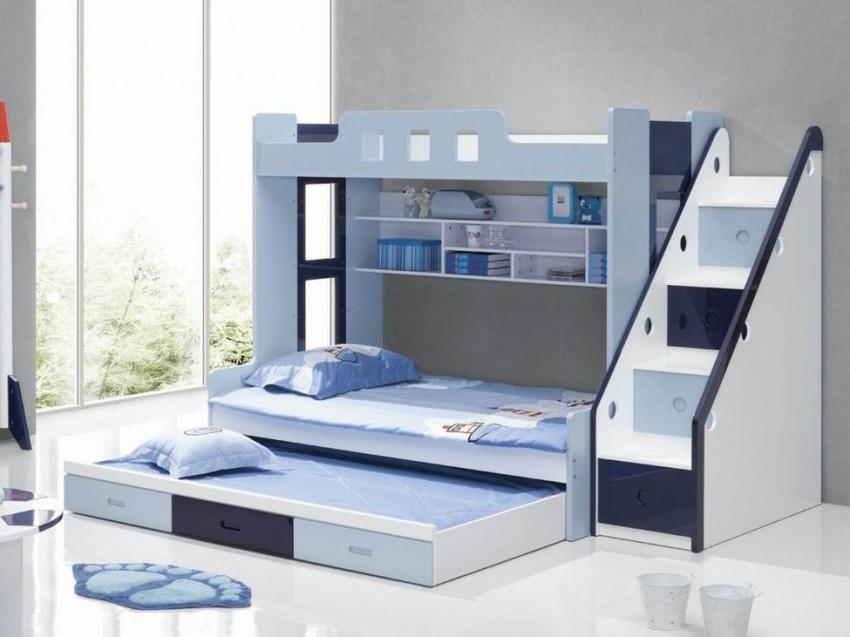 Детская двухъярусная кровать ДМ-166