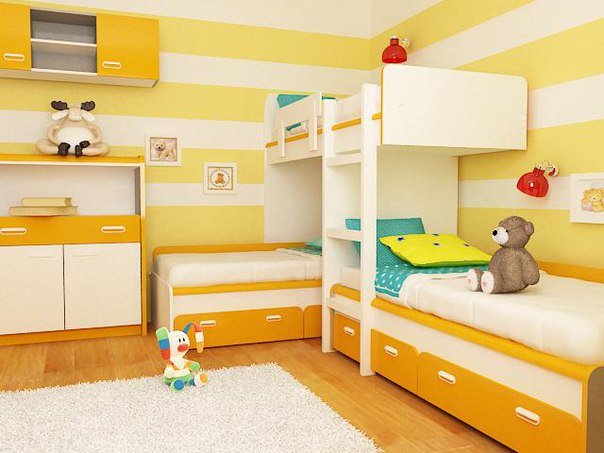 Детская двухъярусная кровать ДМ-167