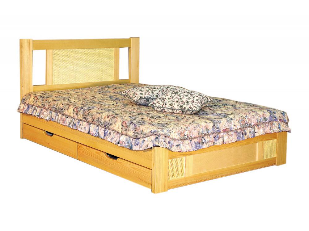 Кровать Лион-2 с ящиками фото