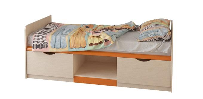 Кровать с ящиками №12 (серия ЖК 4.5М) — Кровать с ящиками №12