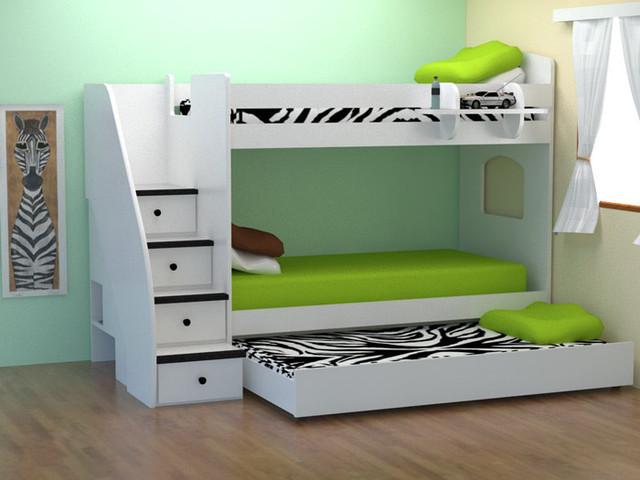 Детская двухъярусная кровать Соня