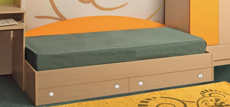 Кровать Тони с 2-мя ящиками