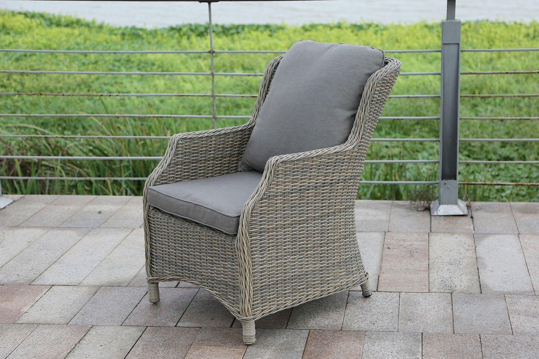 Кресло из искусственного ротанга Бергамо фото
