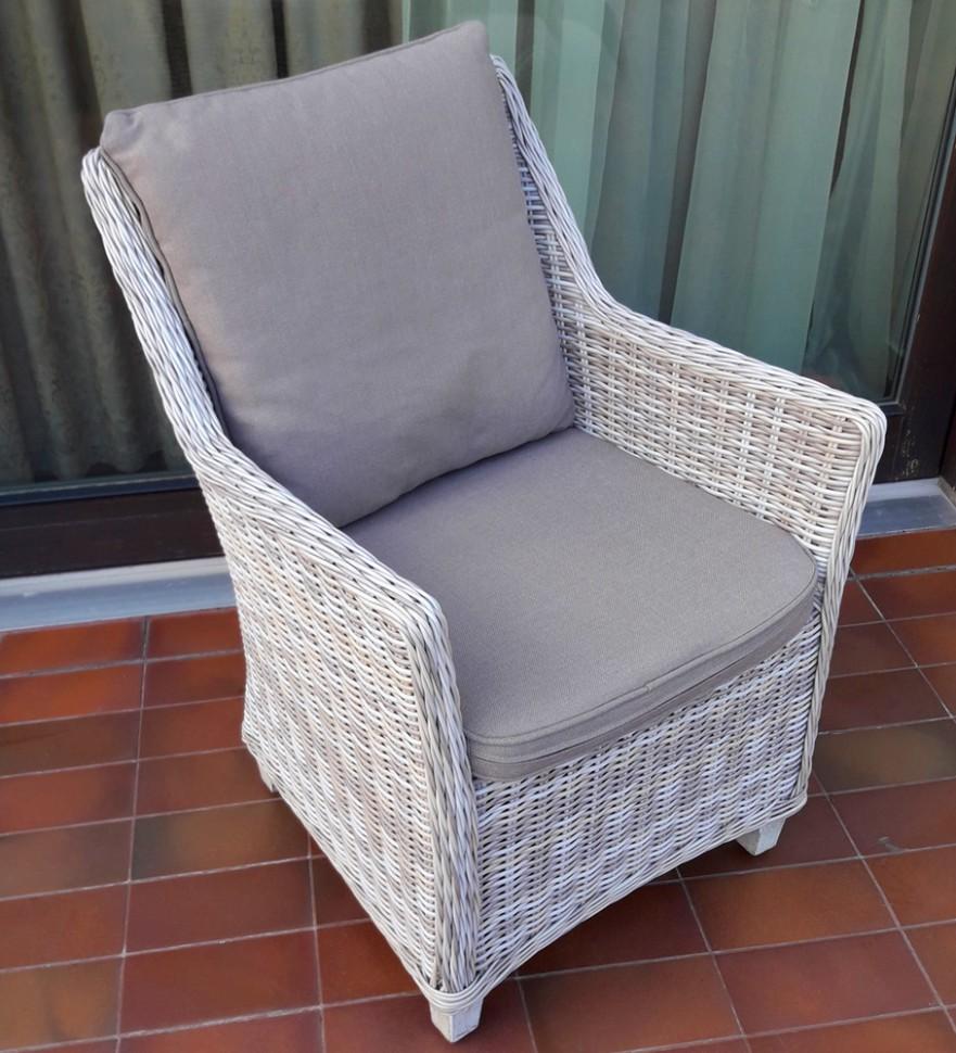 Кресло из искусственного ротанга Тоскана
