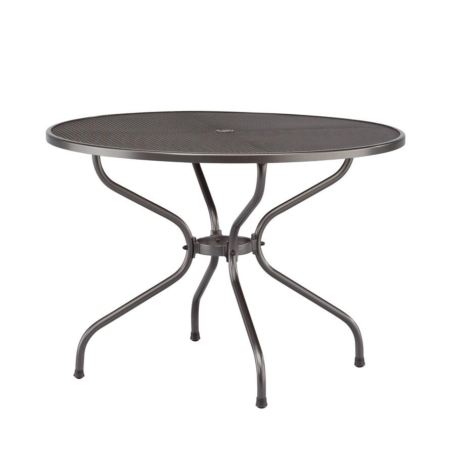 Стол круглый-металлический Toledo 120 (сетка) Kettler фото