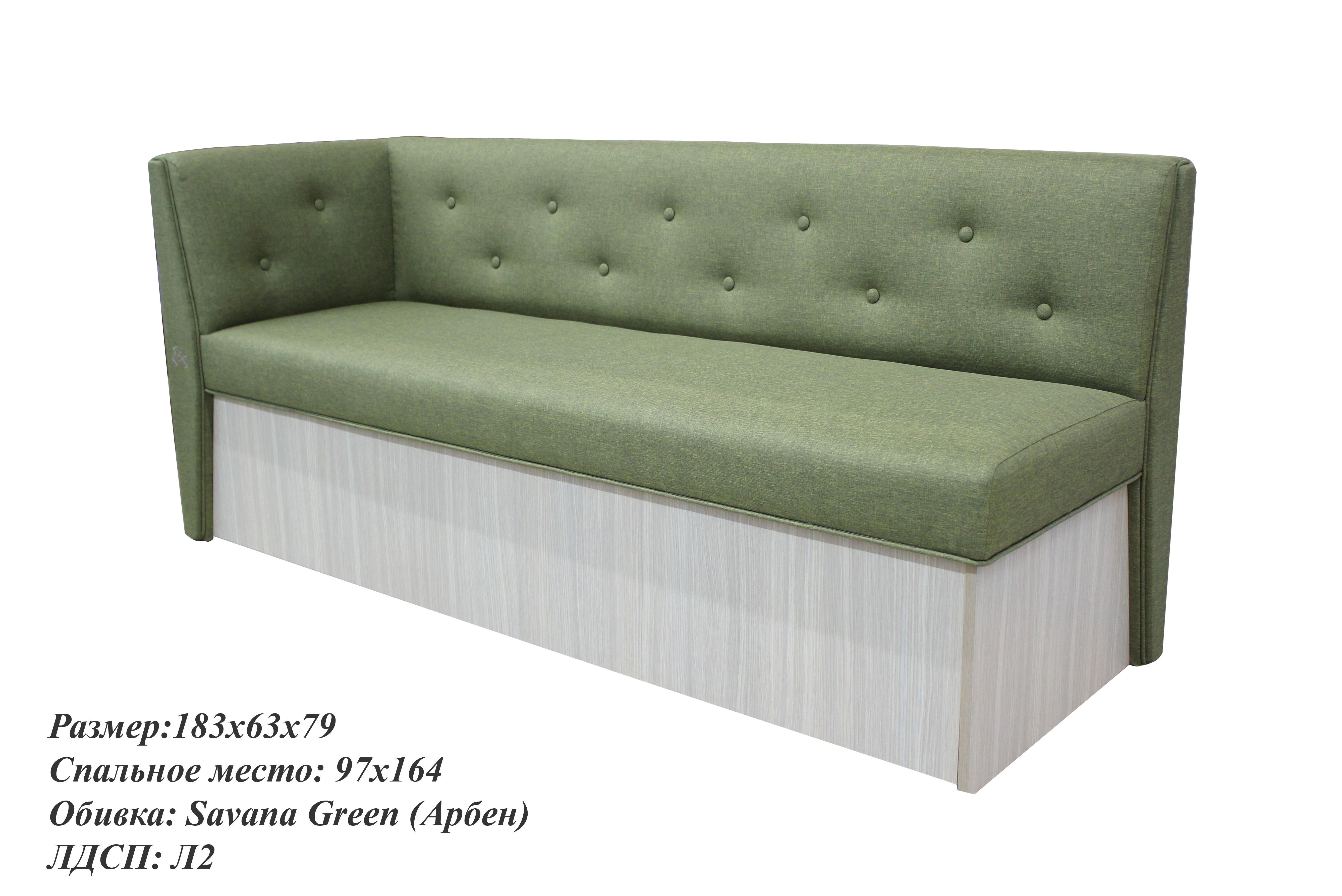 Кухонный диван Верона с углом - Savana фото