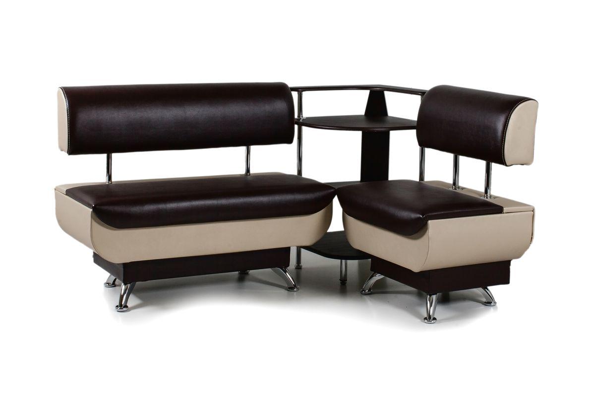 Кухонный уголок Валенсия диван МД60+МД70+ПУ50