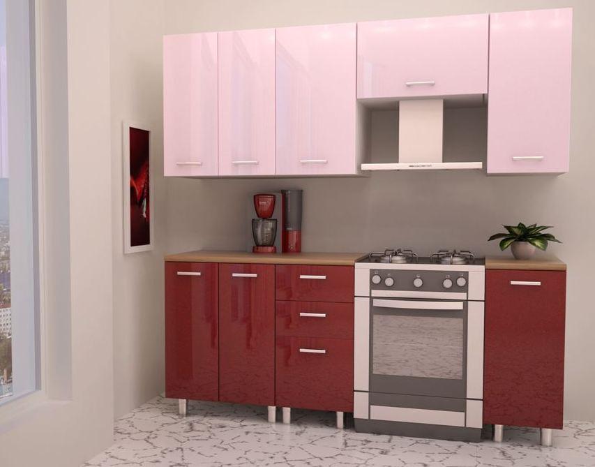 Кухонный гарнитур Венеция-Гранат 1350 — Кухонный гарнитур Венеция 1350