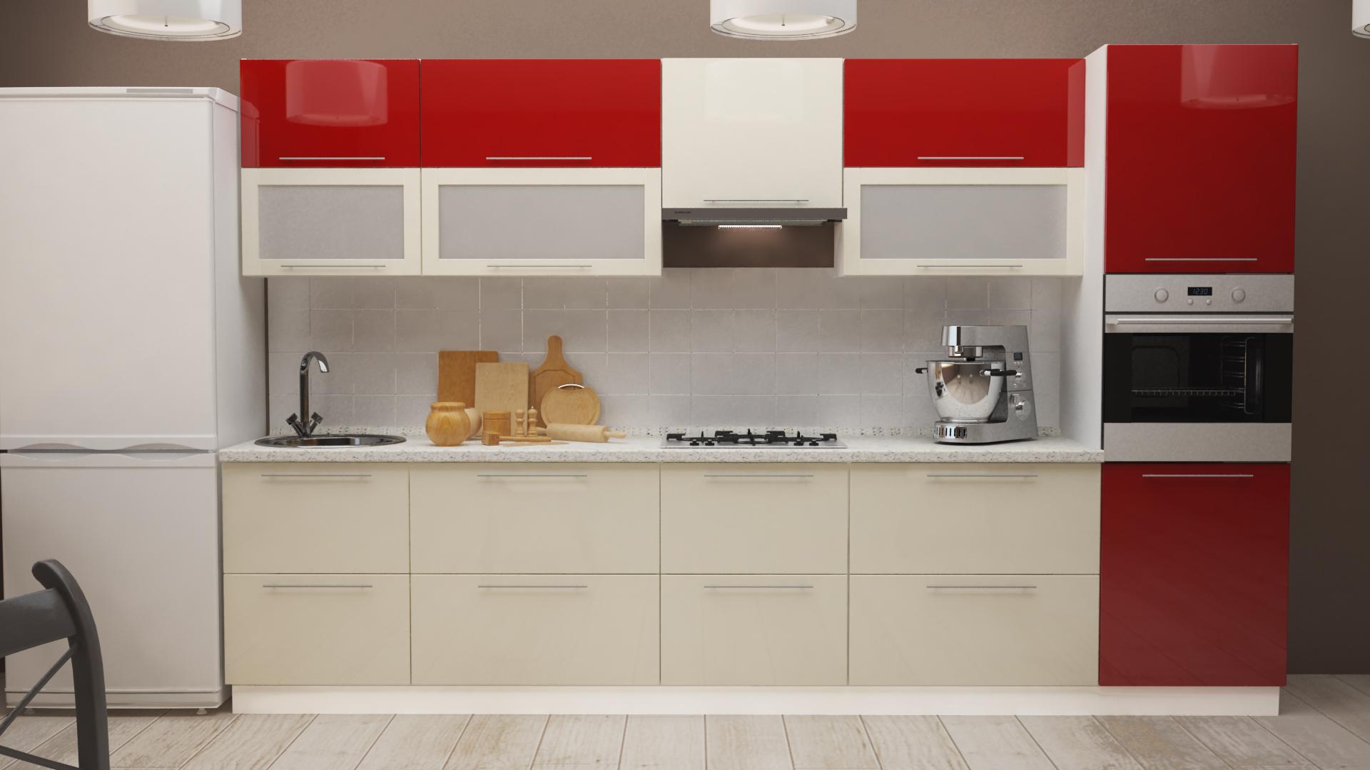 Модульный кухонный гарнитур Рэд