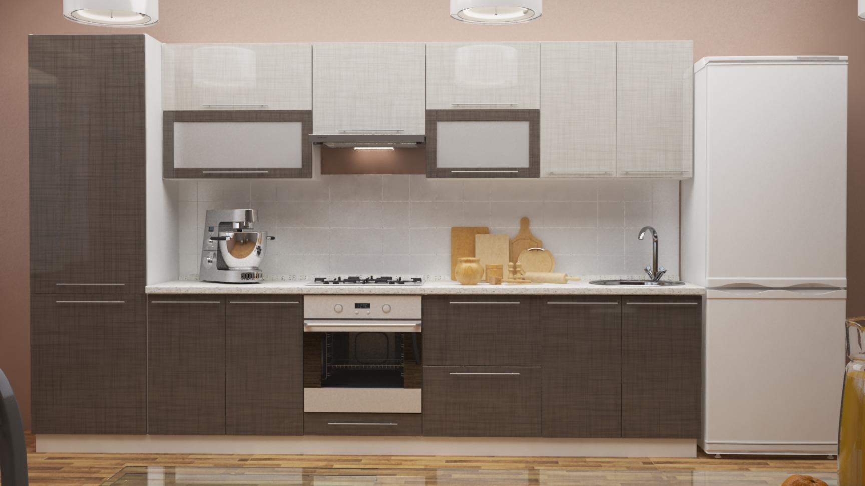 Модульный кухонный гарнитур Стич