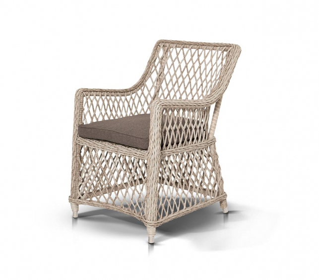 Кресло из искусственный ротанг Латте White — Кресло из искусственный ротанг Латте  White
