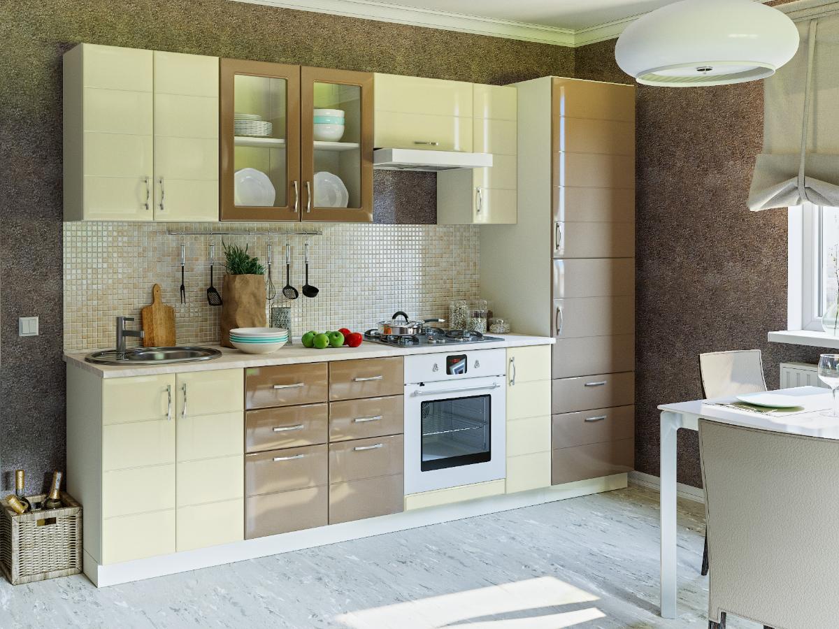 Модульный кухонный гарнитур Лора