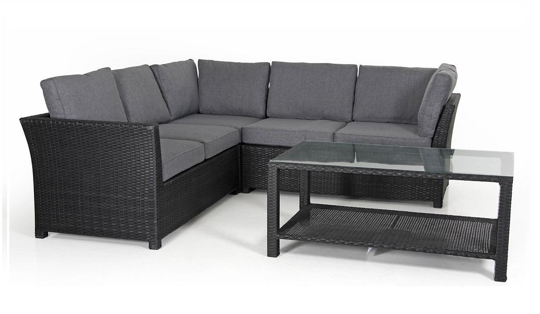 Комплект плетеной мебели Madison-1 black фото