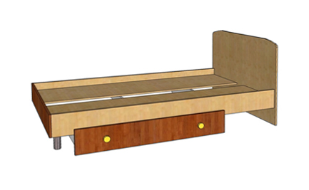 Кровать Ассоль А-12 — Кровать А-12