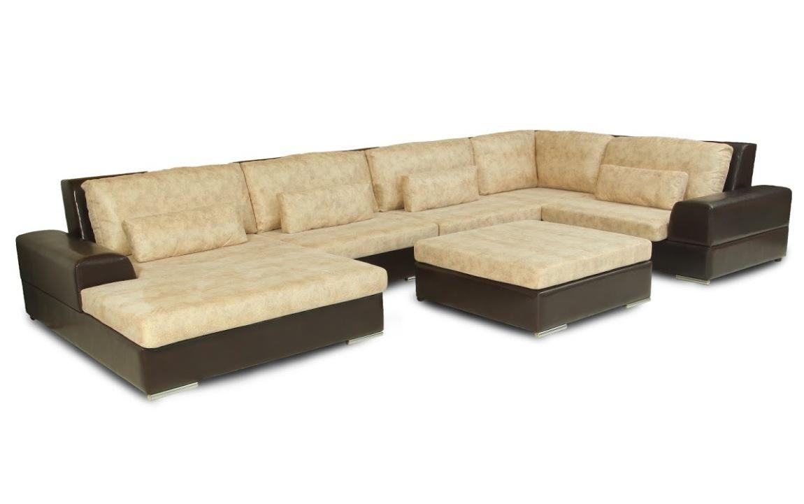 Угловой модульный диван Монца-5
