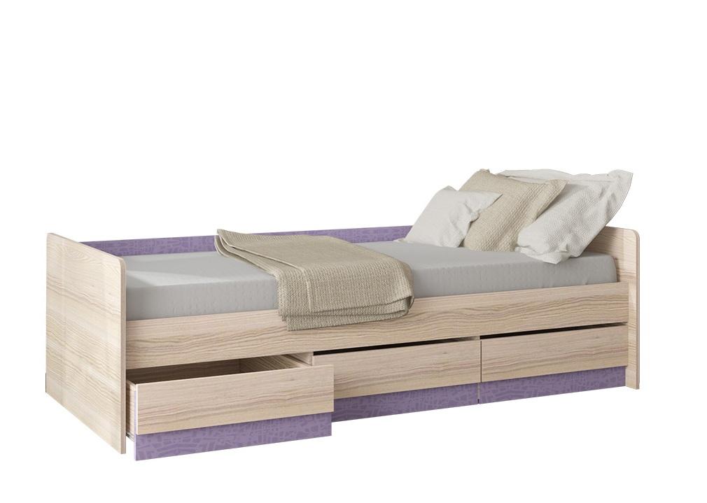 Кровать с ящиками Индиго Пм 145.15 — Кровать с ящиками Индиго