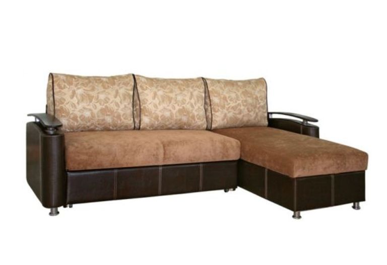 Угловой диван с оттоманкой Оникс 3 фото