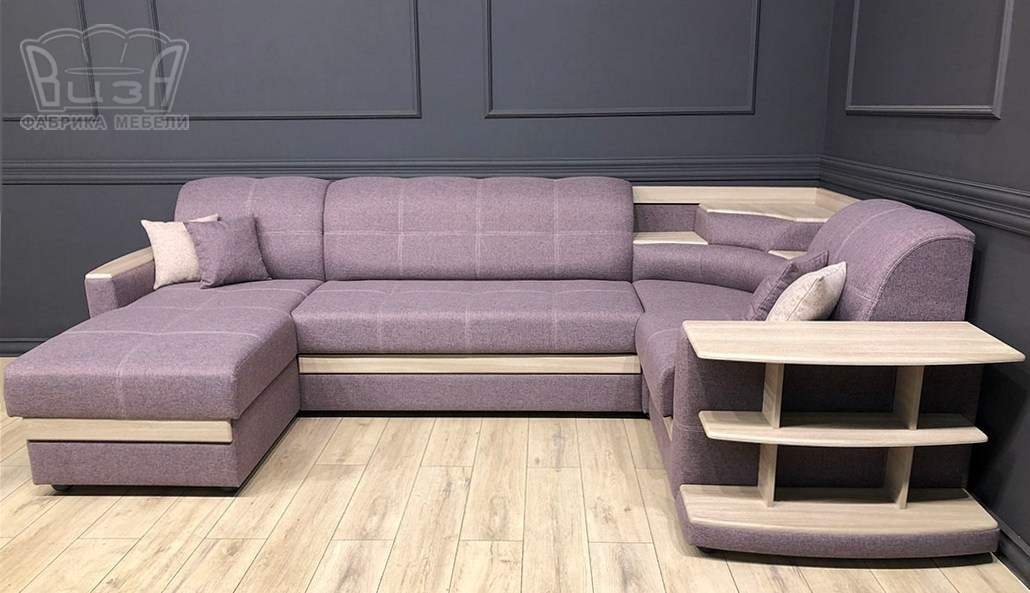Угловой модульный диван Виза 01 П фото