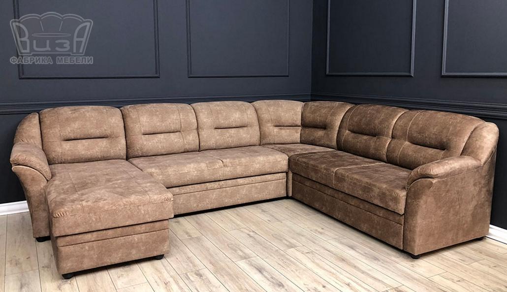 Угловой модульный диван Виза М 02 П