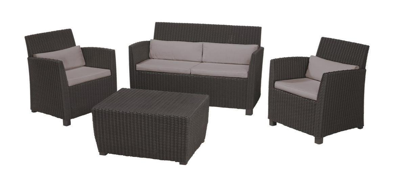 Комплект пластиковой мебели Corona
