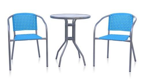 Стол и 2 стула для дачи XRB-035-D60