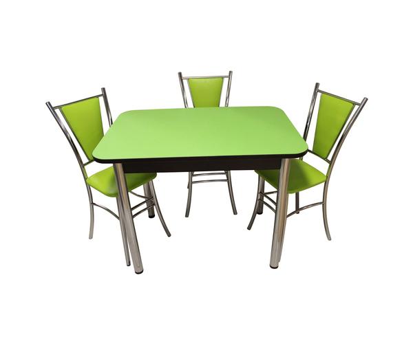 Обеденная группа Былина-Лилия зеленый