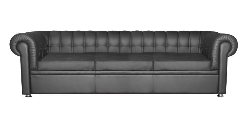 Офисный трехместный диван Честер