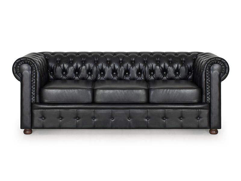 Офисный диван трехместный Честер АК — Офисный трехместный диван Честер