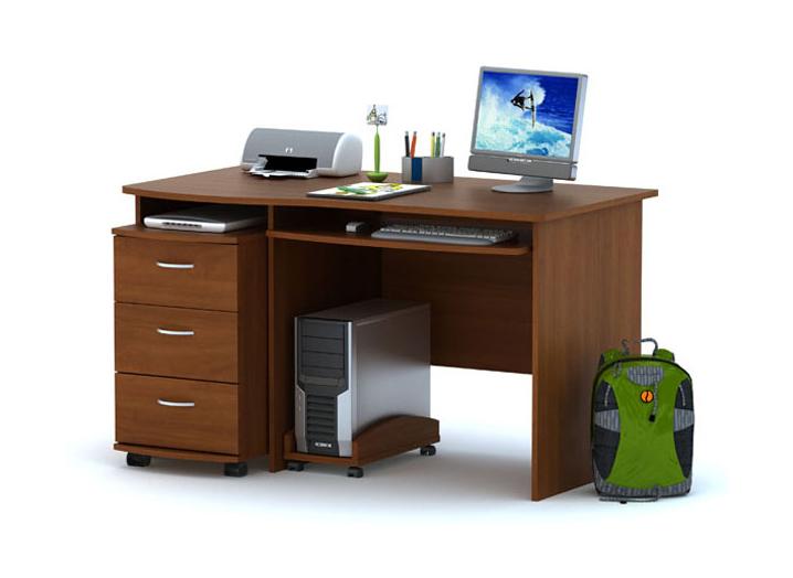 Письменный стол ПС03.01 + ТБ03.02
