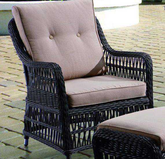 Кресло из искусственного ротанга CANNES