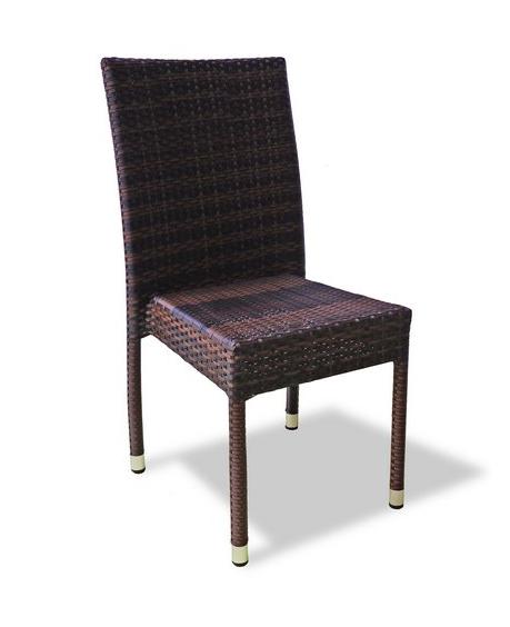 Плетеный стул Milano без подлокотников