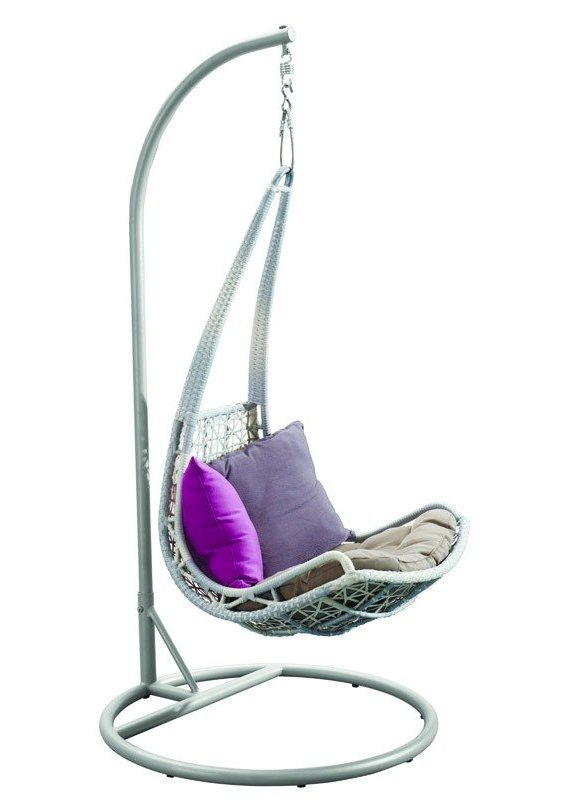 Подвесное кресло из ротанга Leaf