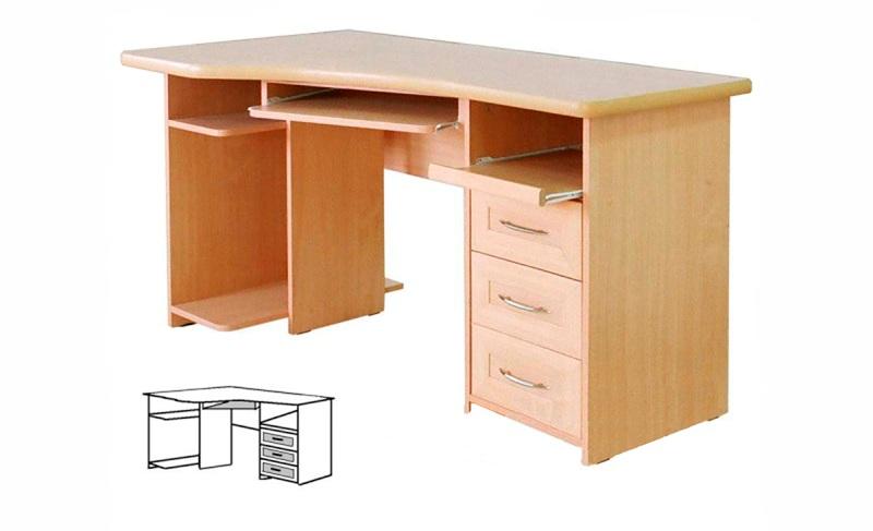 Компьютерный стол Практик-140