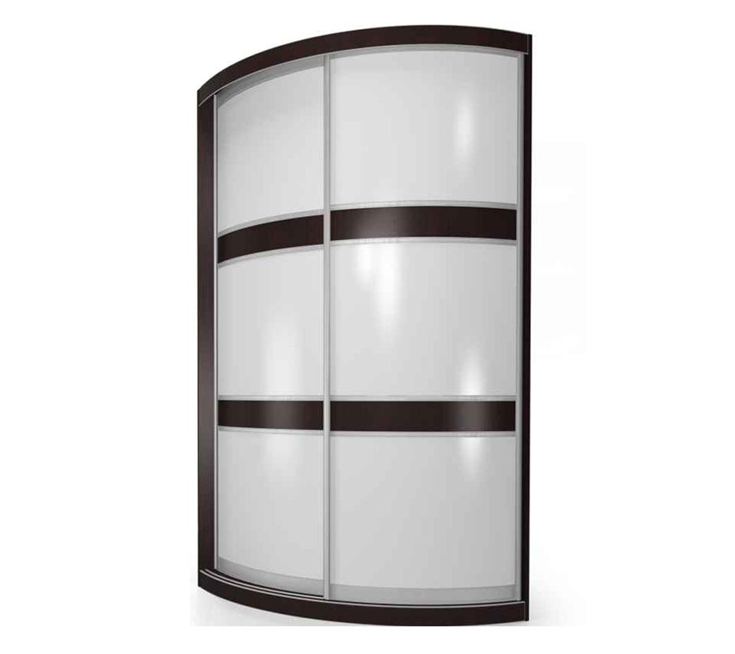 Радиусный шкаф-купе Мебелайн-1 фото