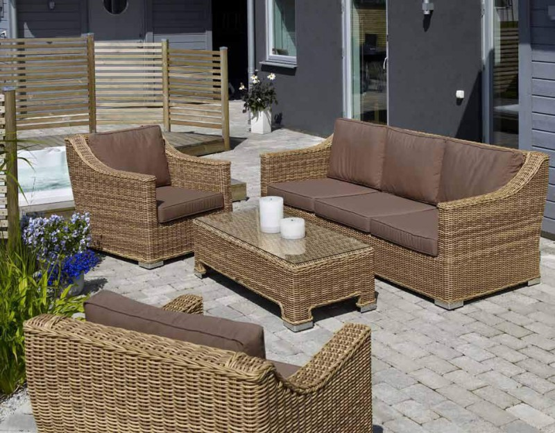 Комплект плетеной мебели Roxina