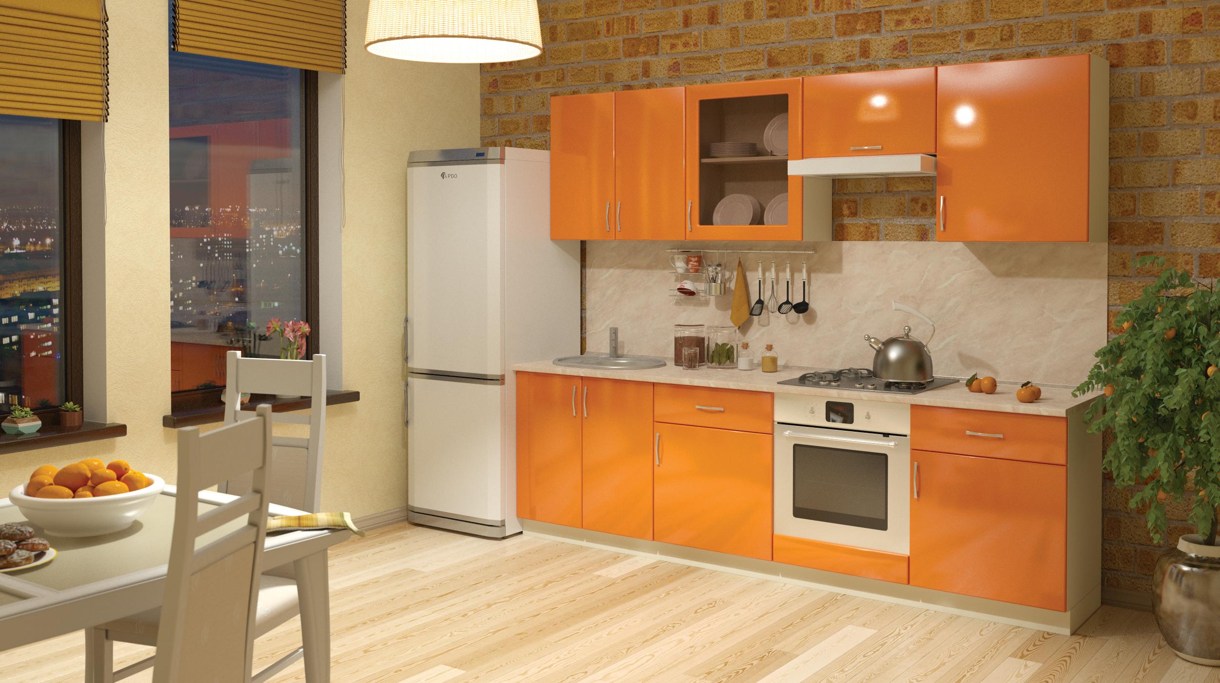 Модульный кухонный гарнитур Сандра-3