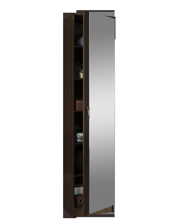 Шкаф 1 дверный с зеркалом Ольга фото