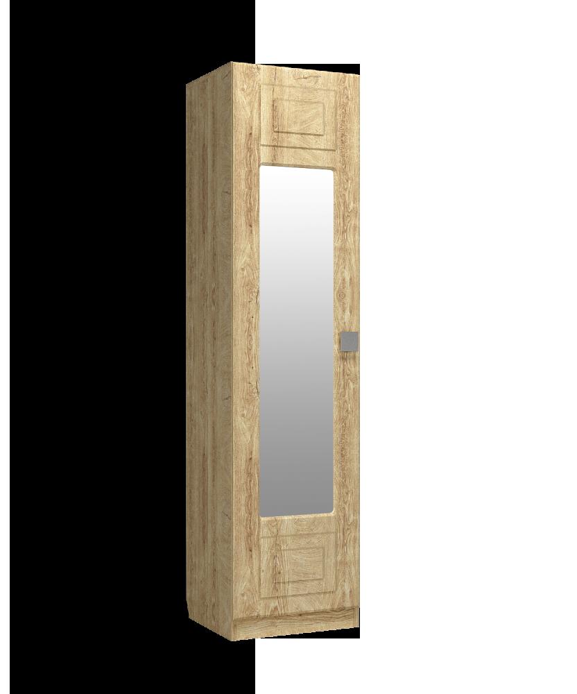 Шкаф-пенал с зеркалом Анастасия