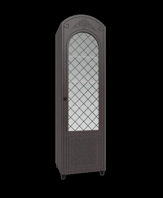 Шкаф-пенал со стеклом Соня Премиум СО-14К фото