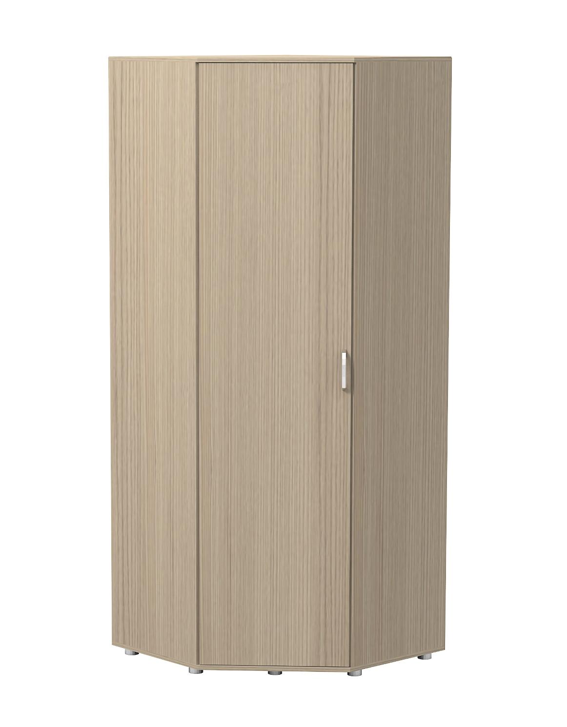 Шкаф угловой для одежды и белья Акцент фото