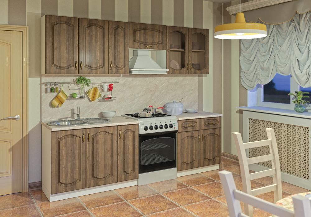 Модульный кухонный гарнитур Сильвия
