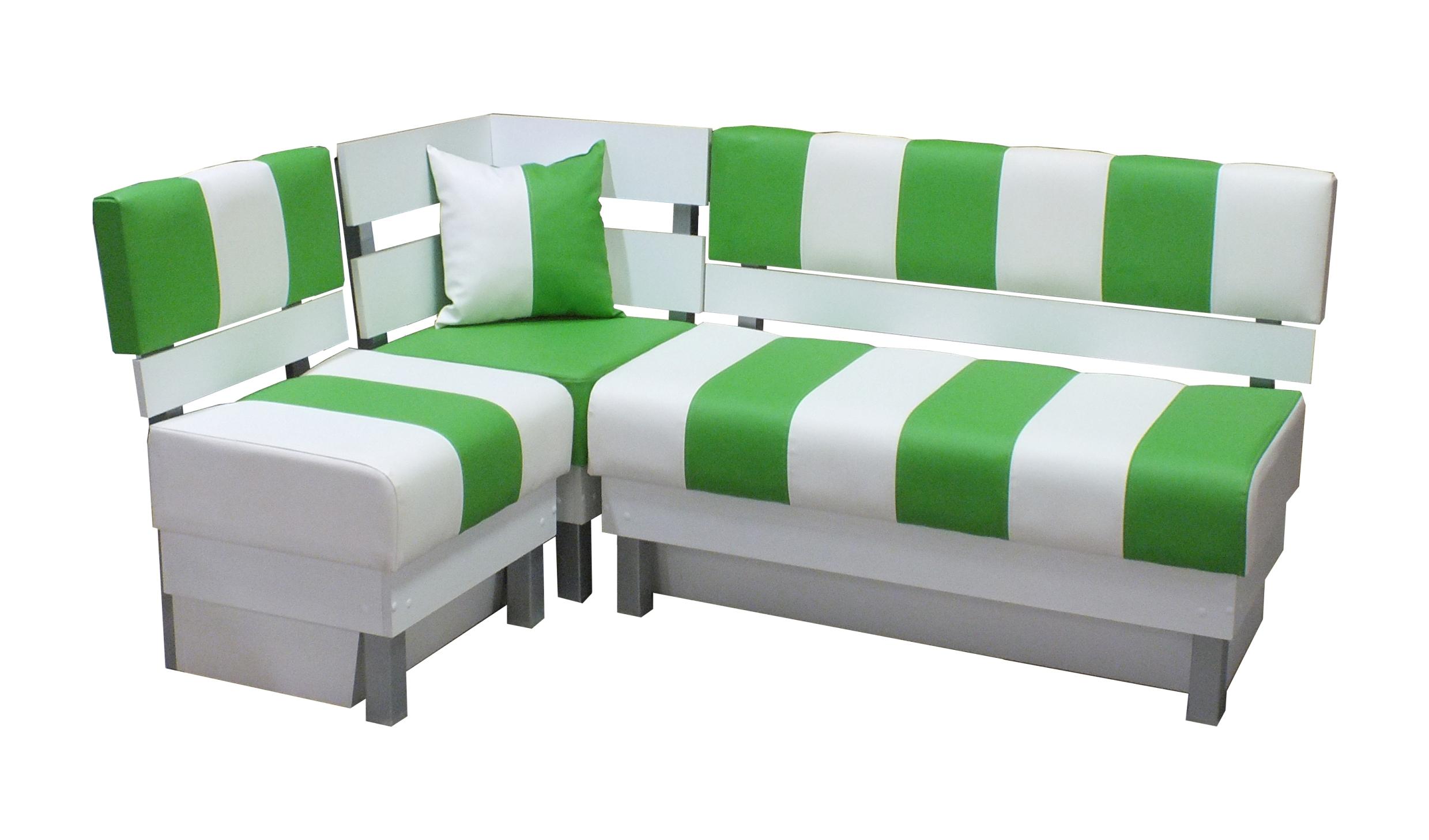 Кухонный угловой диван Домино фото