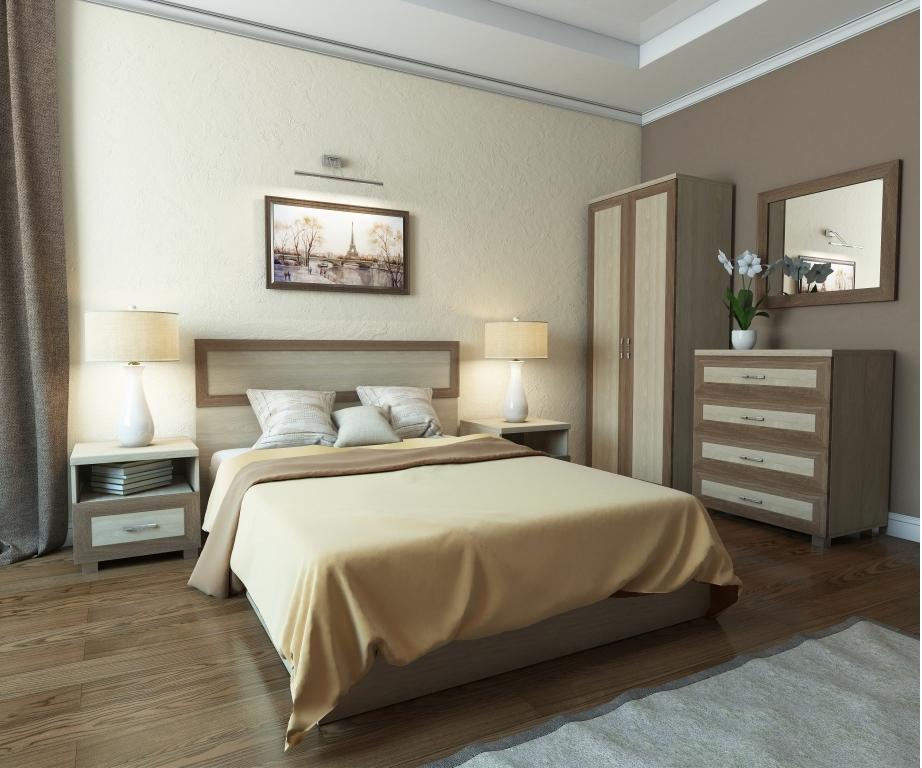 Модульная спальня Квадро-1