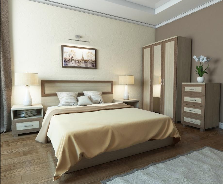 Модульная спальня Квадро-2